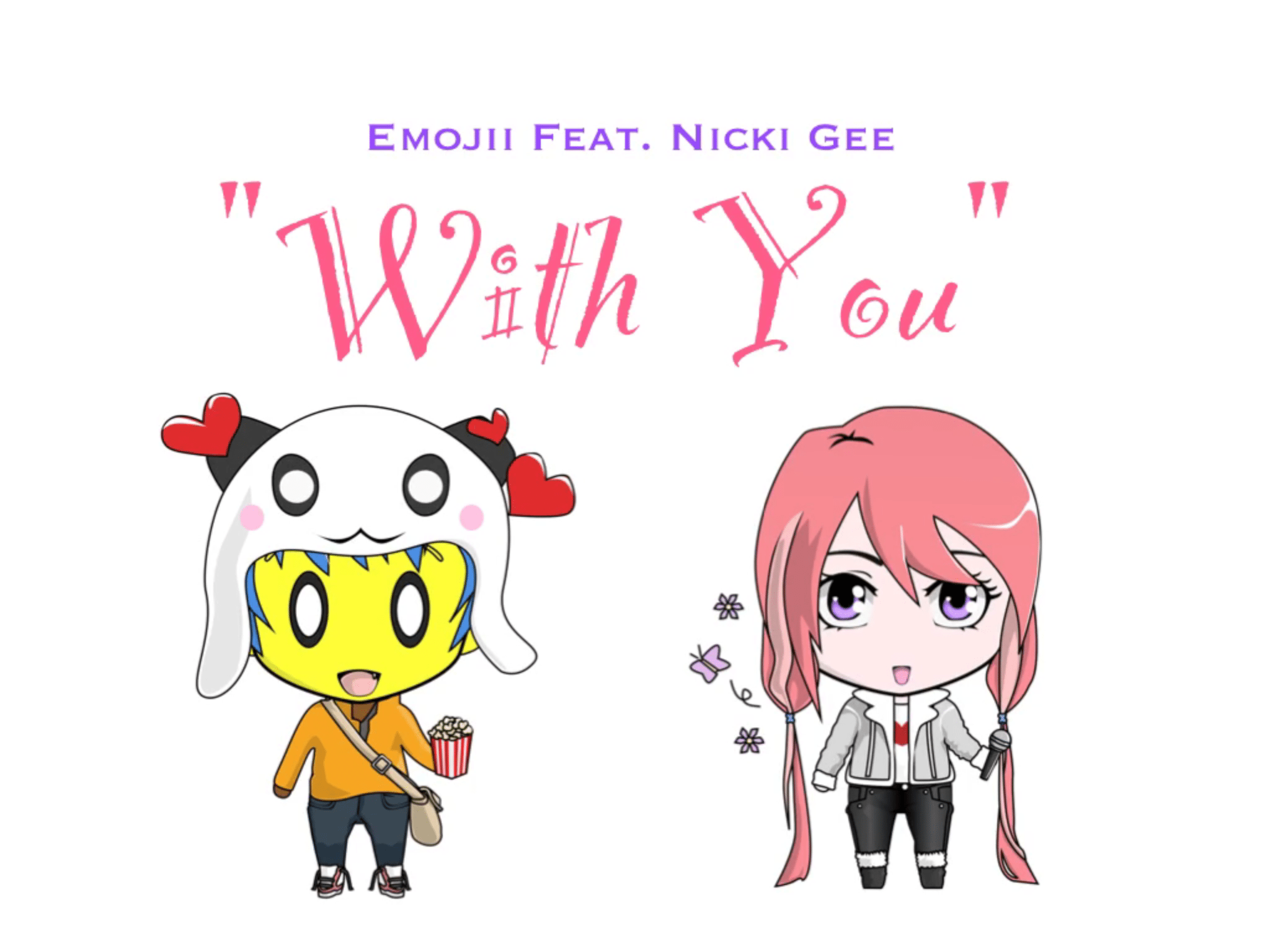 WATCH! EMOJII & NICKI GEE SHARE THEIR NEW COLLAB.. WITH YOU