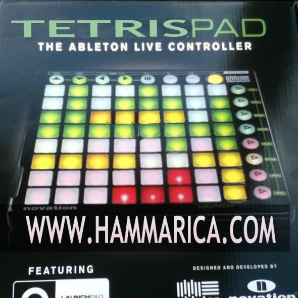 Ableton Live Tetris Controller EDM News Hammarica PR